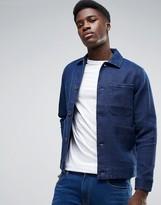 WÅVEN Waffle Indigo Workwear Jacket