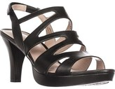 Naturalizer Pressley Platform Strappy Dress Sandals, Black.