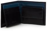 Jeff Banks Designer Black Leather Colour Block Wallet
