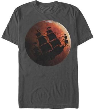 Chin Up Apparel Men's Tee Shirts CHARCOAL - Charcoal Pirates Of Mars Tee - Men