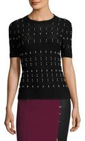 Yigal Azrouel Cord Stitched Top