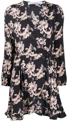 IRO floral print mini dress