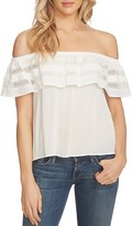 1 STATE 1.STATE Off-the-Shoulder Ruffle Top
