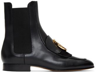 Chloé Black C Chelsea Boots