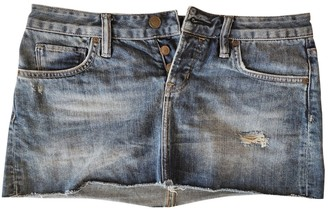AllSaints Blue Denim - Jeans Skirt for Women