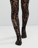 Emilio Cavallini Emillio Cavallini Graphic Lace Tights