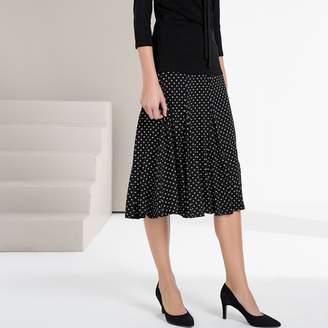 Anne Weyburn Polka Dot Print Full Skirt