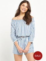 Replay Stripe Playsuit
