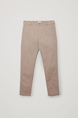 Cos Brushed Cotton Chinos