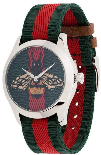 Gucci G-Timeless 38mm bee Web watch