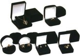 FindingKing 12 Ring Earring Necklace Jewelry Gift Boxes New