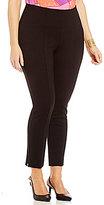 Peter Nygard Nygard Slims Plus Luxe Waist Ankle Pants