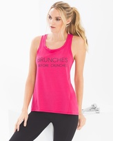 Soma Intimates Cotton Blend Flyaway Tank Top Brunches Pink Punch
