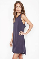Michael Lauren Cyd Sleeveless Open Back Dress