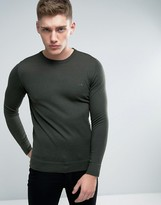Lindbergh Sweater In Green Merino Wool