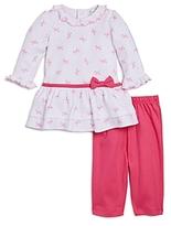Kissy Kissy Girls' Bow Dress & Leggings Set - Baby