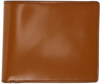 Maison Margiela Beige Patent Bifold Wallet