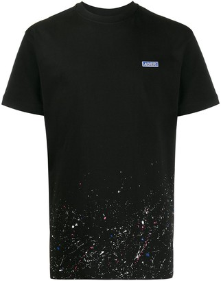 Ader Error paint splatter T-shirt