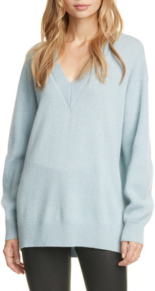 Rag & Bone Logan V-Neck Cashmere Sweater