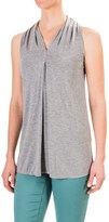 Chelsea & Theodore V-Neck Shirt - Rayon, Sleeveless (For Women)