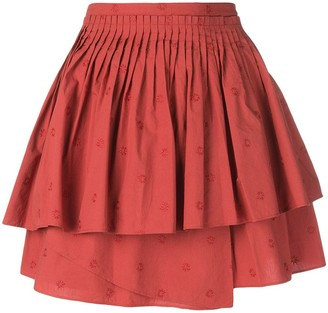 Ulla Johnson Ruffled Mini Dress