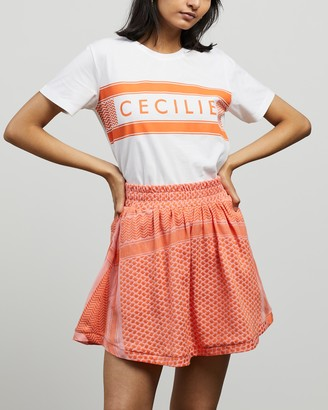 Cecilie Copenhagen Women's White Printed T-Shirts - Simone T-Shirt - Size XS at The Iconic
