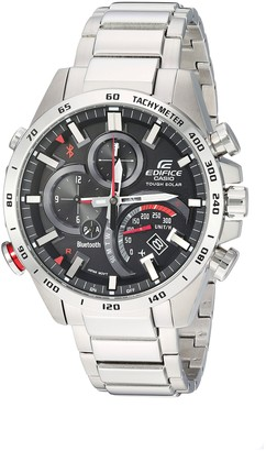 Casio Men's Edifice Connected Quartz Watch with Stainless-Steel Strap