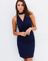 Clarissa Cowl Neck Dress