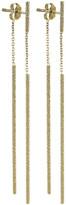 Carolina Bucci Florentine 18k Gold Magic Wand Earrings