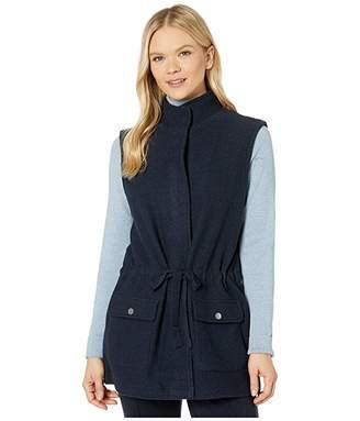 Jones New York Boiled Wool Cargo Vest