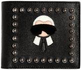 Fendi Karl Leather Saffiano Classic Wallet