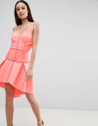 Asos PREMIUM Corset Drop Waist Mini Dress
