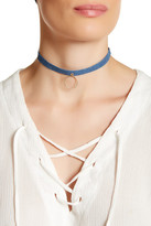 Jules Smith Designs Denim Open Circle Choker