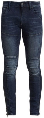 G Star 5620 Skinny Zip Ankle Jeans