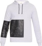 Balenciaga Panelled hooded sweatshirt