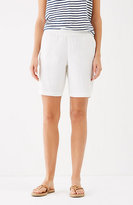 J. Jill Easy Linen-Stretch Shorts