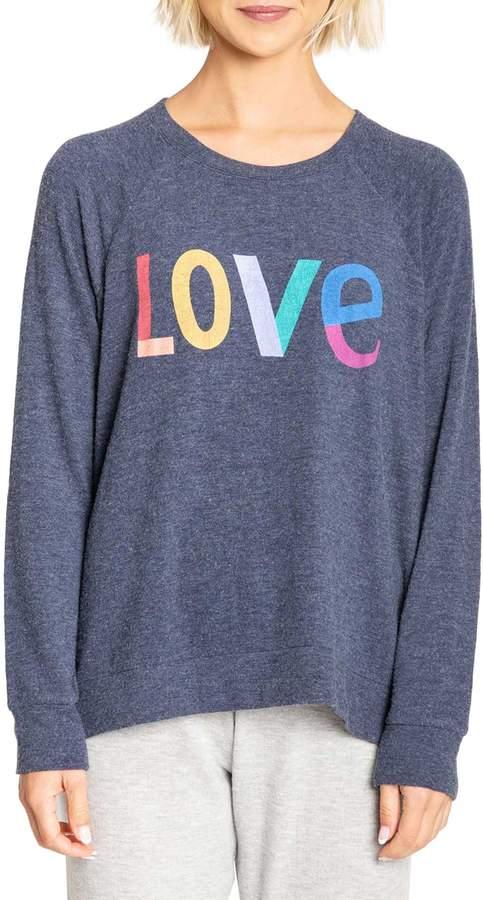 PJ Salvage Iconic Lounge Graphic Lounge Sweatshirt