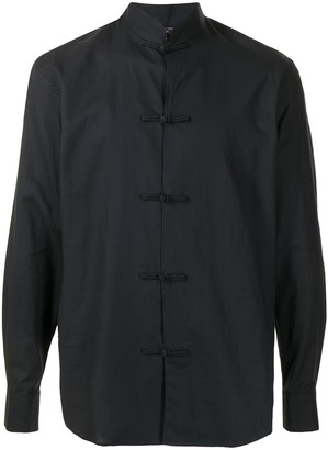 Shanghai Tang Chambray Button-Down Shirt