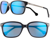 Converse Women's Polarized Mirrored Cat's-Eye Sunglasses