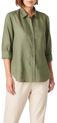 French Connection French Linen Boyfriend Shirt