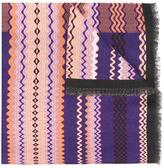 Missoni zig-zag pattern scarf