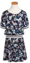 Splendid Girl's Floral Print Dress
