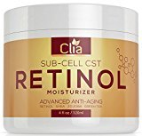 Retinol Night Cream Moisturizer for Face, Eyes | Huge 4 Ounce | Natural Lotion w/ Vitamin C, E, Jojoba | Anti-Aging | Anti-Wrinkle Firming Cream for Fine Lines, Wrinkles and Dry Skin