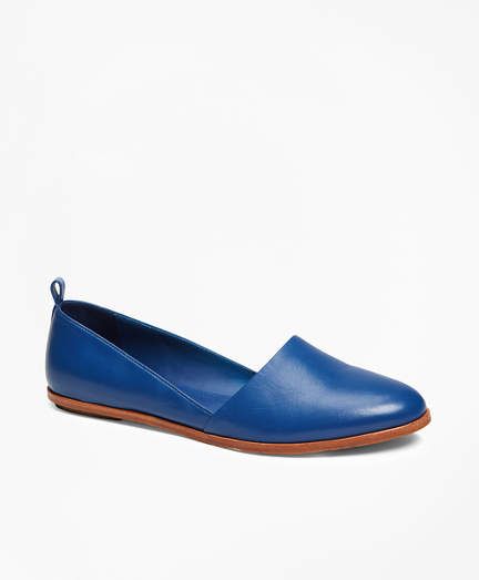 Brooks Brothers Leather Flats
