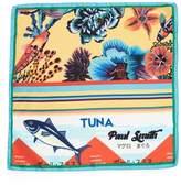 Paul Smith Hawaiian Yellow Koi Pocket Square