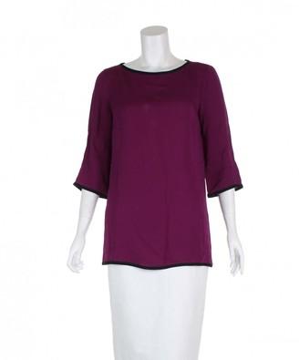 Gucci Purple Silk Tops