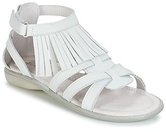 Citrouille et Compagnie RAVIPE girls's Sandals in White
