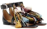 Chloé Embellished Leather Sandals