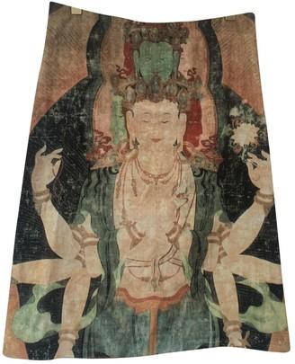 Vivienne Tam Velvet Skirt for Women