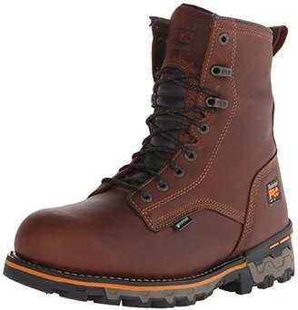Timberland Men's 8 Inch Boondock Soft Toe Waterproof Work and Hunt Boot